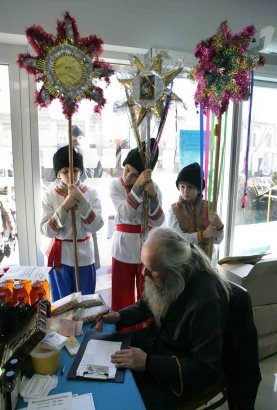В Одессе проходит выставка-ярмарка «Свет Рождества»