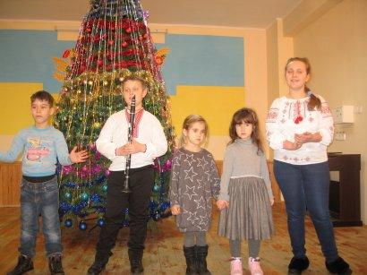 Праздник Рождества Христова для воспитанниц дома-интерната на Макаренко, 20