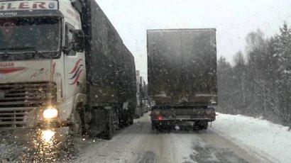 Грузовикам и крупногабаритному транспорту запрещен въезд в Одессу