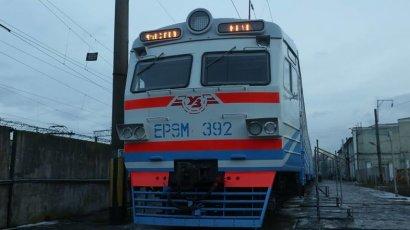 Во время разгула стихии одесситы массово пересаживались с автомобильного на …железнодорожный транспорт