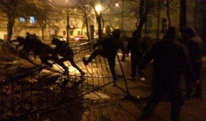 Одесские «активисты» совершили очередную хулиганскую акцию