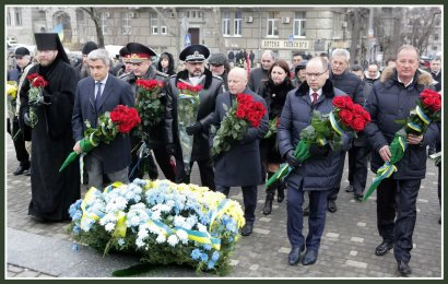 В Одессе отметили День соборности Украины