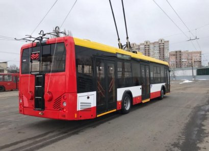 В Одессу прибыл уже второй белорусский троллейбус