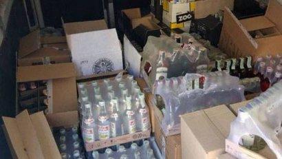 В Одессе обнаружили почти тонну алкогольных напитков без необходимых документов