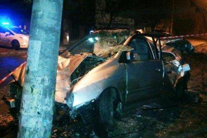 Смертельное ДТП произошло сегодня в Одессе