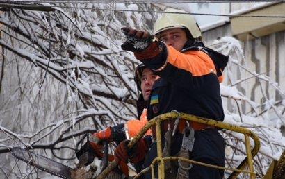 В Одесской области все еще остаются обесточенными шестнадцать населенных пунктов