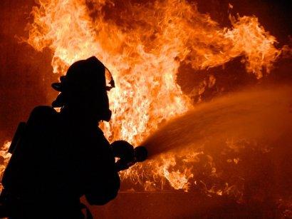 Еще один масштабный пожар произошел накануне в Черноморске