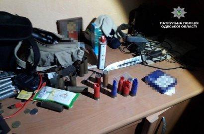 В Одессе задержан еще один «арсеналовладелец»
