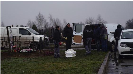 Эксперты провели эксгумацию тел девочек погибших при пожаре в одесском муниципальном лагере Виктория