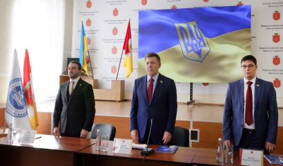 Народный депутат Украины Сергей Кивалов отчитался перед избирателями за 2017 год