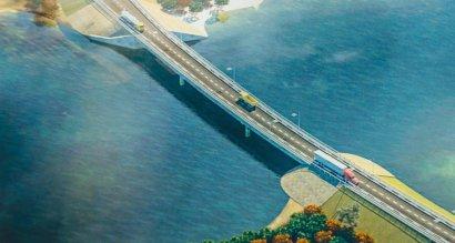 Строительство моста через Сухой лиман между Одессой и Черноморском будет завершено уже до конца лета..