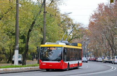 Троллейбусы вместо маршруток?