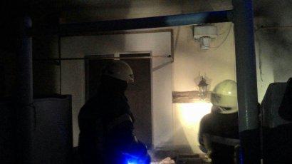 Серьезный пожар произошел накануне в Одесской области