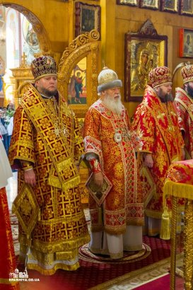 В день своего тезоименитства митрополит Агафангел совершил праздничную Божественную литургию в Свято-Успенском Одесском мужском монастыре (Видео)