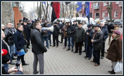 Одесские националисты требуют защиты у польского Президента