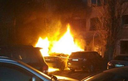 В Одессе снова горят автомобили!