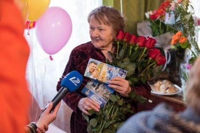 Одесситку поздравляют с 90-летием!