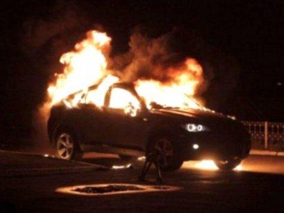 В Одессе снова сгорел автомобиль