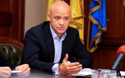 Одесский мэр так и не вышел на работу