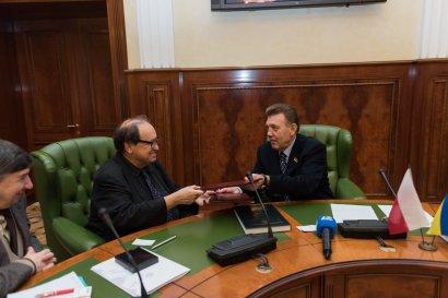 Одесские вузы будут сотрудничать с Варшавским университетом