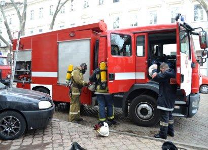 В центре города снова горело кафе