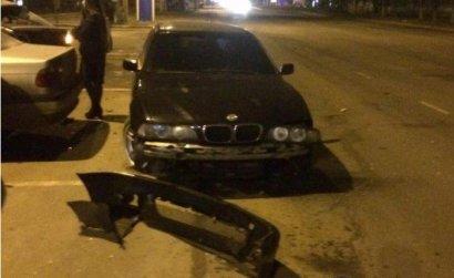 ДТП с участием сразу шести автомобилей произошло ночью в Одессе