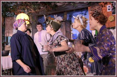 О жизни одесского двора