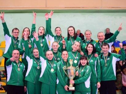 Южненские волейболистки в пятый раз завоевали Кубок Украины