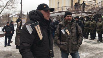 Соломенский суд в Киеве превращен в крепость