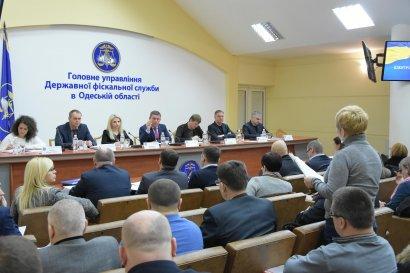В фискальной службе состоялась встреча с представителями  бизнес-сообщества и общественниками