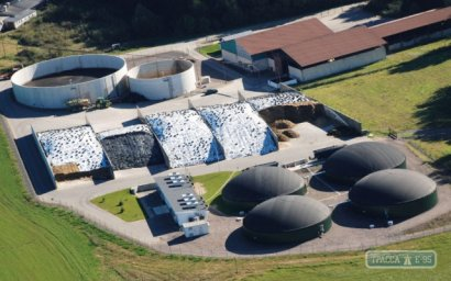 В Одессе планируют построить завод по производству биогаза