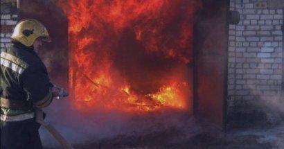Серьезный пожар произошел накануне на поселке Котовского