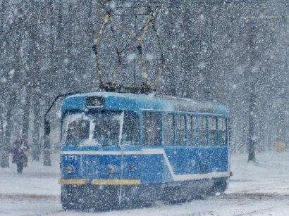 В Одессе остановился «Камышовый трамвай»