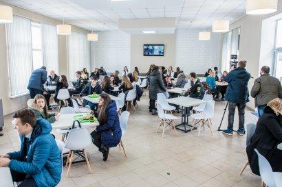 В Одессе открылось современное студенческое кафе