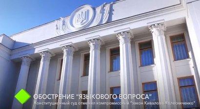 """Конституционный суд отменил """"закон Кивалова-Колесниченко"""""""