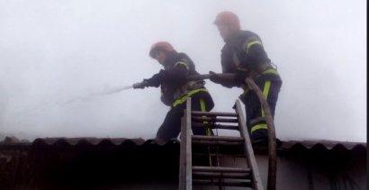 В центре Одессы произошел пожар в коммунальной квартире