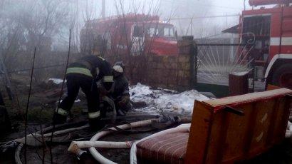 Серьезный пожар произошел в непосредственной близости от Одесского Припортового завода