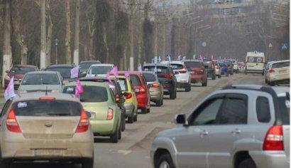 Одесский женский автопробег к Международному женскому дню 8 Марта