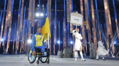 Сборная Украины поднялась на второе место в медальном зачёте на Паралимпийских играх