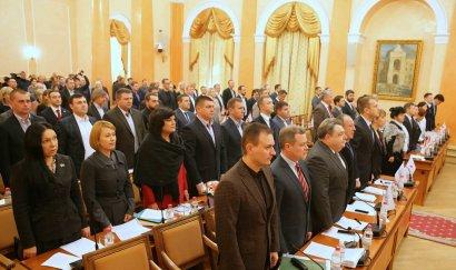 Украинская морская партия выступила с обращениями на сессии горсовета