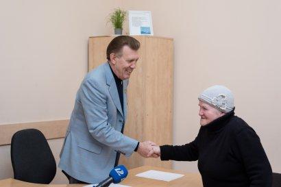 Одесситы посетили прием народного депутата и приняли участие в новой социальной программе