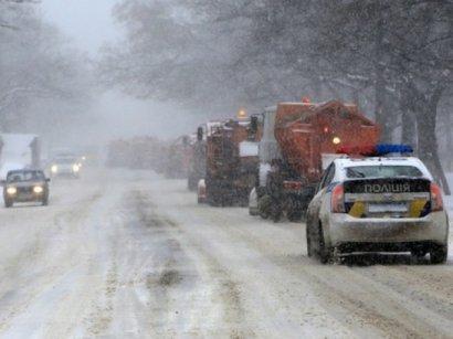 Несмотря на снегопады, дороги региона находятся в проезжаемом состоянии