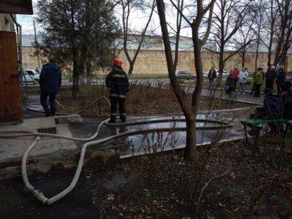 В Измаиле из огня спасли пожилую женщину
