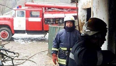 В Одессе на пожаре пострадал пятилетний ребенок
