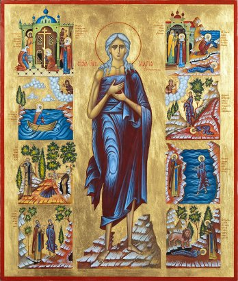 Пятая седмица: читаем канон, хвалим Богородицу и вспоминаем Марию Египетскую