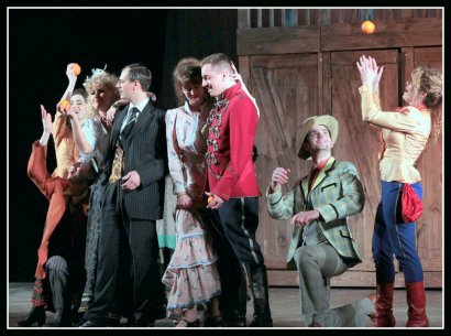 На сцене - мир старой Молдаванки