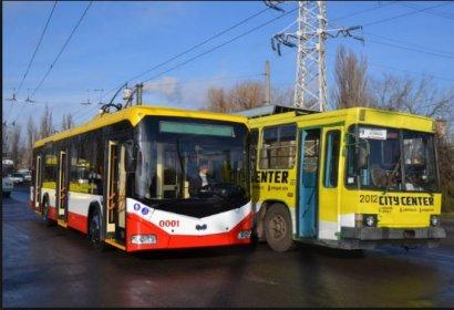 Одесситы в последнее время предпочитают ездить на трамваях и троллейбусах