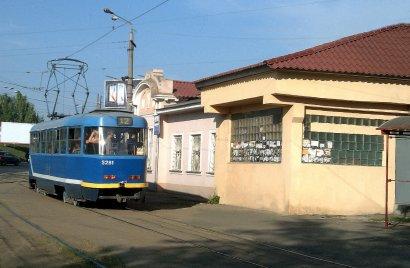 С завтрашнего дня трамвай № 12 будет ходить до остановки «Лузановка»