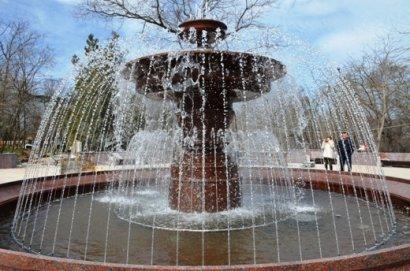 Завершилась реконструкция фонтана «Ваза малая» в парке имени Шевченко