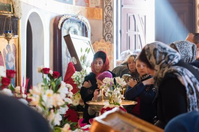 Божественная литургия Страстной субботы в храме Святой мученицы Татианы